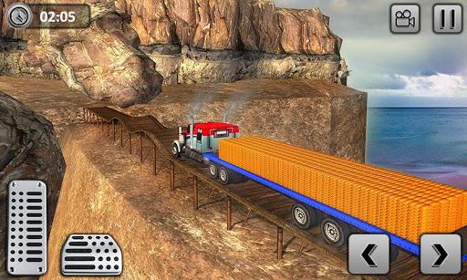 Uphill Gold Transporter Truck Drive apkdebit screenshots 5