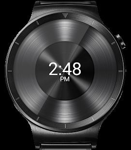 Black Metal 2 HD WatchFace Widget & Live Wallpaper