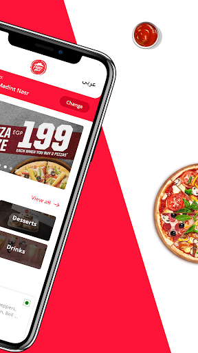 PizzaHut Egypt - Order Pizza Online for Delivery 1.0.6 screenshots 2