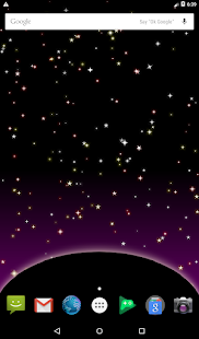 Twinkling Stars Live Wallpaper