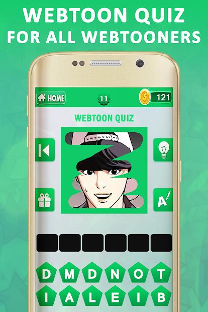 Screenshot 15 de Webtoon Quiz para android