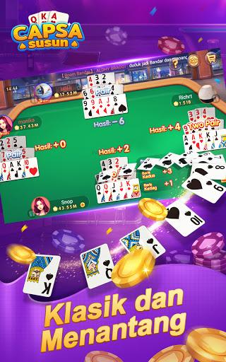 Capsa Susun Online:Domino Gaple Poker Free  screenshots 14