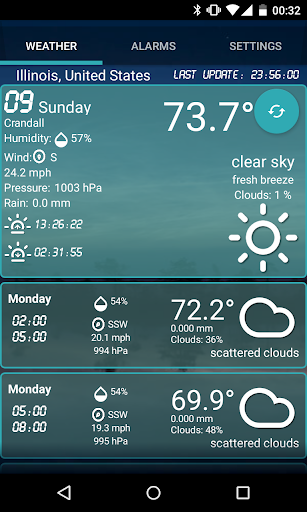 Custom Weather Alerts 5.1 Screenshots 1