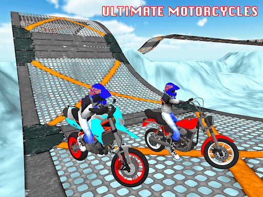 Motorcycle Escape Simulator - Fast Car and Police apkmartins screenshots 1