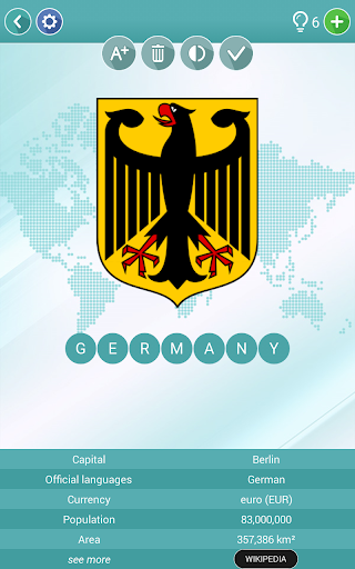 Geography Quiz - flags, maps & coats of arms 1.5.19 screenshots 9
