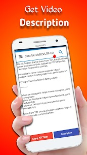 Tube Tags – Best Tags Finder and Thumbnail Downloader 5