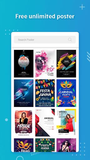 Poster Maker, Flyers, Banner, Logo Ads Page Design  Screenshots 2