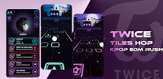 Twice Tiles Hop: KPOP EDM Rushのおすすめ画像1