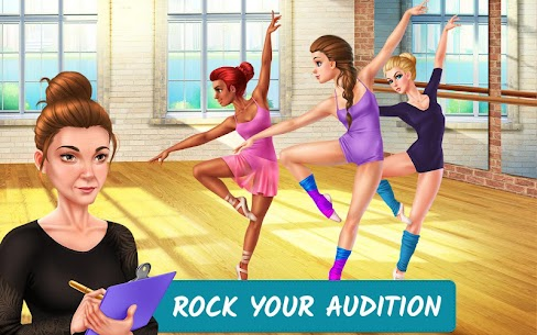 Dance School Stories MOD APK 1.1.28 (Unlimited Tickets, Unlocked Items) 1