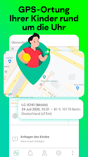 Kindersicherung & GPS-Tracking: Kaspersky SafeKids Screenshot