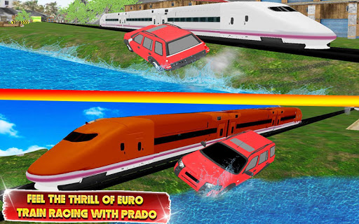 Train vs Prado Racing 3D: Advance Racing Revival modavailable screenshots 6