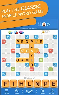Words with Friends Classic: Word Puzzle Challenge Screenshot