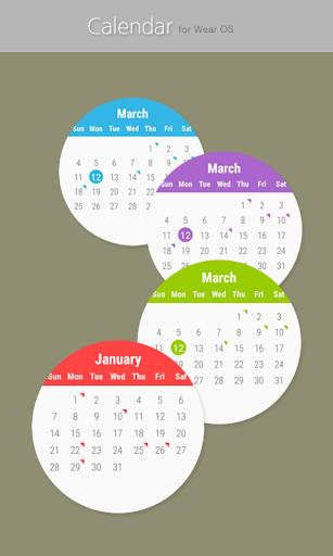 Calendar for Wear OS  screenshots 5
