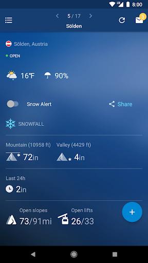 Snow Report Ski App  screenshots 1