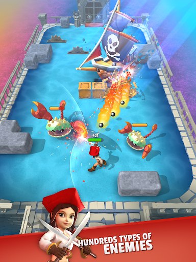 Dashero: Archer&Sword 3D - Offline Arcade Shooting modavailable screenshots 11