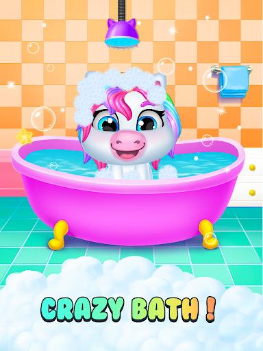 Unicorn Mom & Newborn - Babysitter Game 1.0.3 screenshots 2