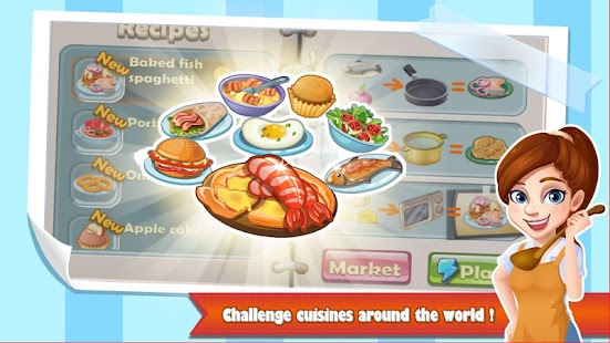 Chef Fever: Crazy Kitchen Restaurant Cooking Games Screenshot