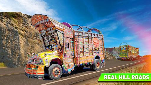 Pak Truck Driver: Heavy Cargo Trailer Truck Apps  screenshots 8