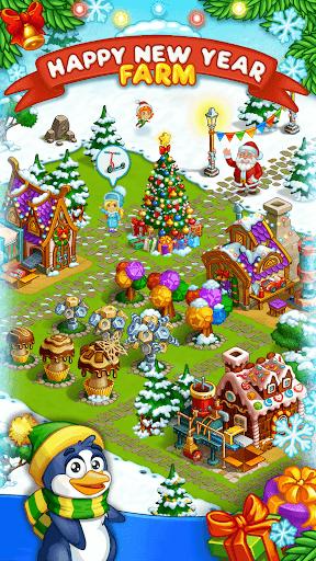 Farm Snow: Happy Christmas Story With Toys & Santa screenshots 1