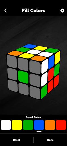 Cubik's - Rubik's Cube Solver, Simulator and Timer apkpoly screenshots 3