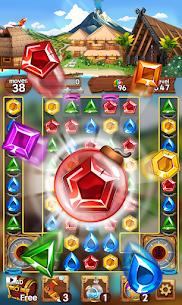 Sea of Jewels : Aloha ! Match3 puzzle 4
