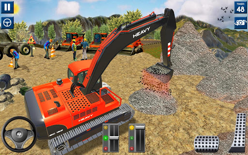Heavy Excavator Simulator 2020: 3D Excavator Games modavailable screenshots 9