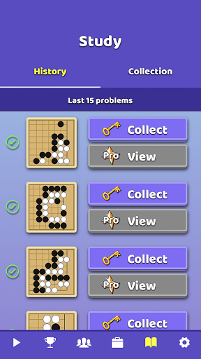 Go - Learn & Play - Baduk Pop (Tsumego/Weiqi Game) 1.22.5 screenshots 4