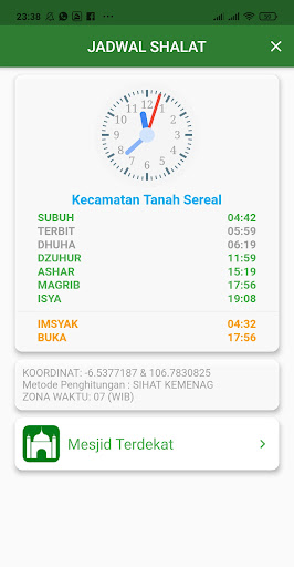 Kalender Hijriah -Puasa Sunnah android2mod screenshots 5