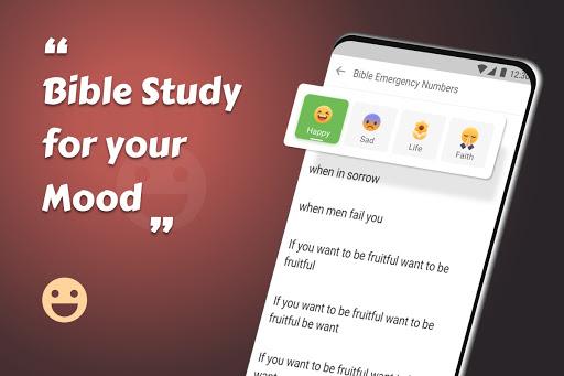 King James Bible (KJV) - Free Bible Verses + Audio android2mod screenshots 18