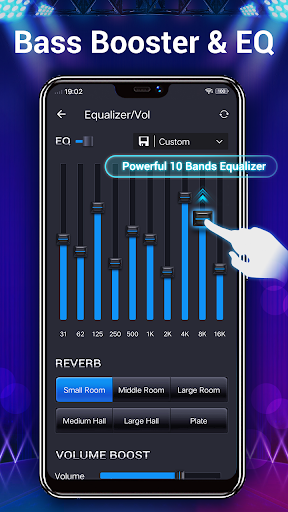 Music Player - Audio Player & 10 Bands Equalizer android2mod screenshots 7