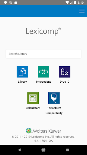 Lexicomp 6.0.7 Screenshots 1