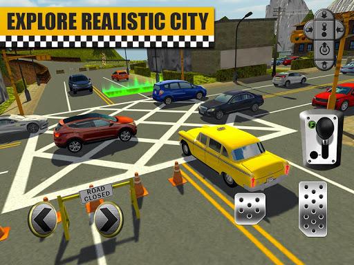 Bus & Taxi Driving Simulator  screenshots 12
