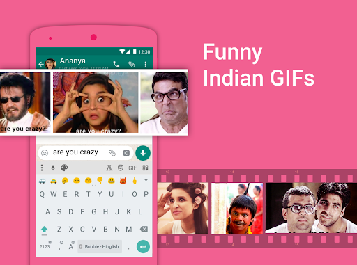 Bobble Indic Keyboard - Stickers, u0492onts & Themes android2mod screenshots 12