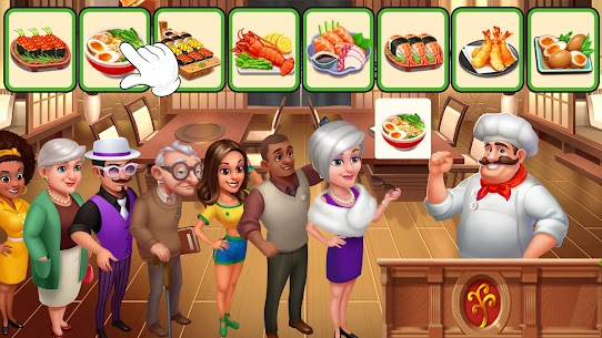 Crazy Chef: Fast Restaurant Cooking Games 2