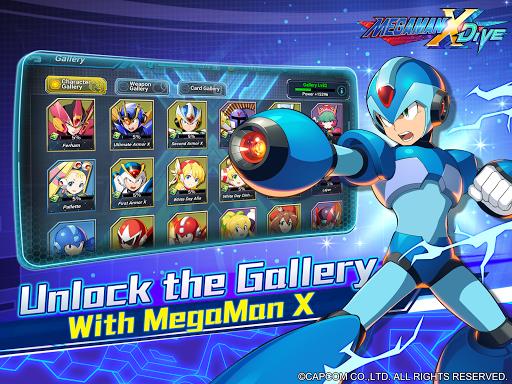 MEGA MAN X DiVE - MOBILE 5.3.1 screenshots 12