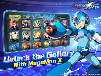 MEGA MAN X DiVE – MOBILE 12