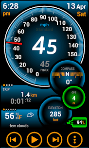 Ulysse Speedometer Pro  For Pc – Windows 7/8/10 And Mac – Free Download 1