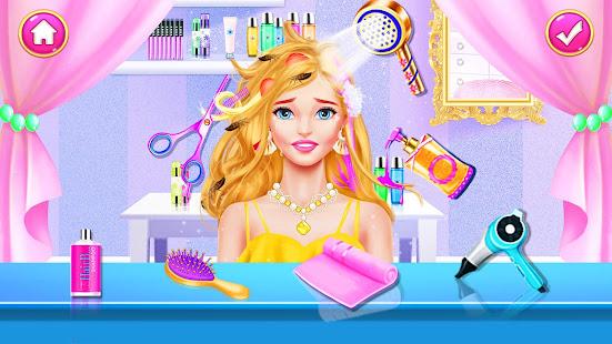 Girl Games: Hair Salon Makeup Dress Up Stylist 1.5 Screenshots 8