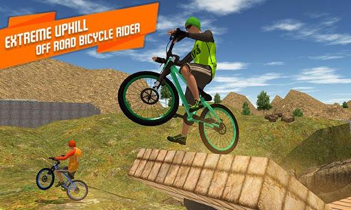 BMX Offroad Bicycle rider Superhero stunts racing screenshots 4