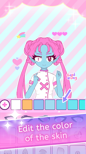 Roxie Girl: Dress up girl avatar maker game  screenshots 15