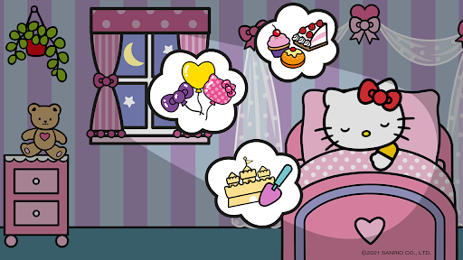 Hello Kitty: Good Night apktram screenshots 2