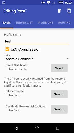 OpenVPN for Android apktram screenshots 1