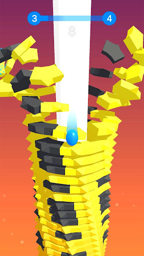 Stack Ball - Blast through platforms modiapk screenshots 1