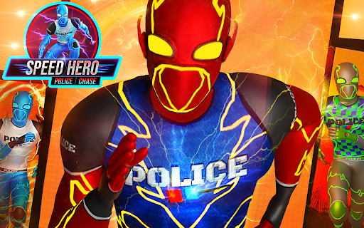 Top Speed Hero Police Robot Cop Gangster Crime apkpoly screenshots 8