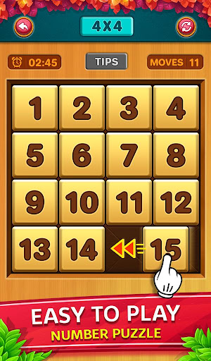 Number Puzzle - Classic Slide Puzzle - Num Riddle screenshots 1