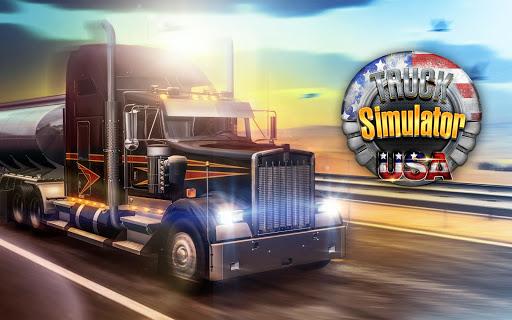 Truck Simulator USA  APK MOD (Astuce) screenshots 1