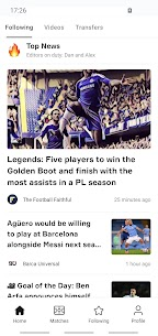 OneFootball  Soccer News For Pc 2020 (Windows 7/8/10 And Mac) 1