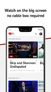 YouTube TV: Live TV & more screenshots 3