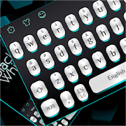 Black White Light Keyboard
