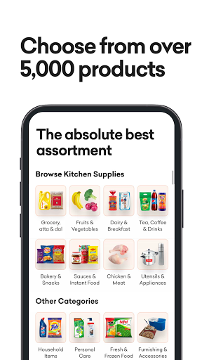 grofers-grocery delivered safely with SuperSavings apktram screenshots 4